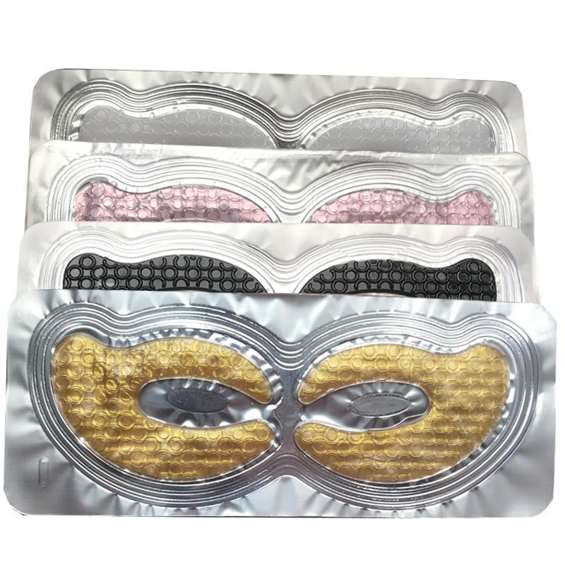 Kolajen Kristal Göz Göz Torbaları Kırışıklık Koyu Circles Açıklaştırma İnce Çizgiler Derin Nemlendirici Göz Pads için Patches Maske