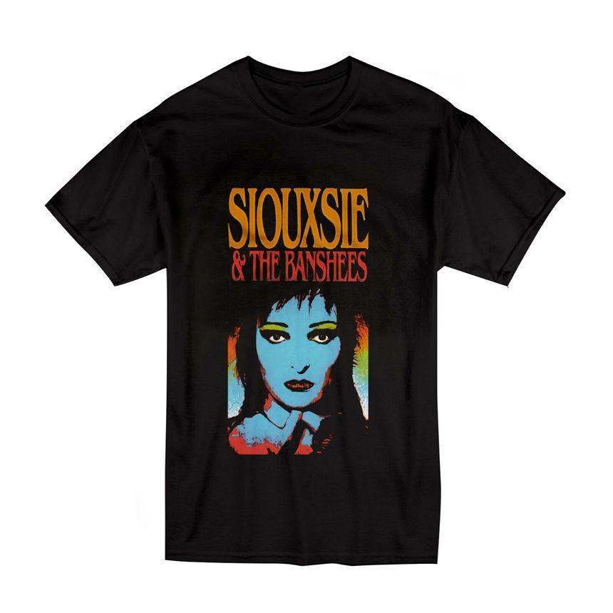 Siouxsie And The Banshees Vintage T-Shirt Größe S-2XL Schwarz Farbe Mode-T-Shirt