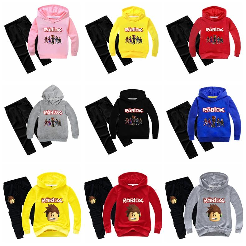Roblox Red Hood Pants 2020 2020 The New Roblox Kids Tracksuit Boys Clothes Set Hoodies And Pants Teenage Sportwear Clothing Sport Suit For Girl Autumn From Zlf999 15 28 Dhgate Com