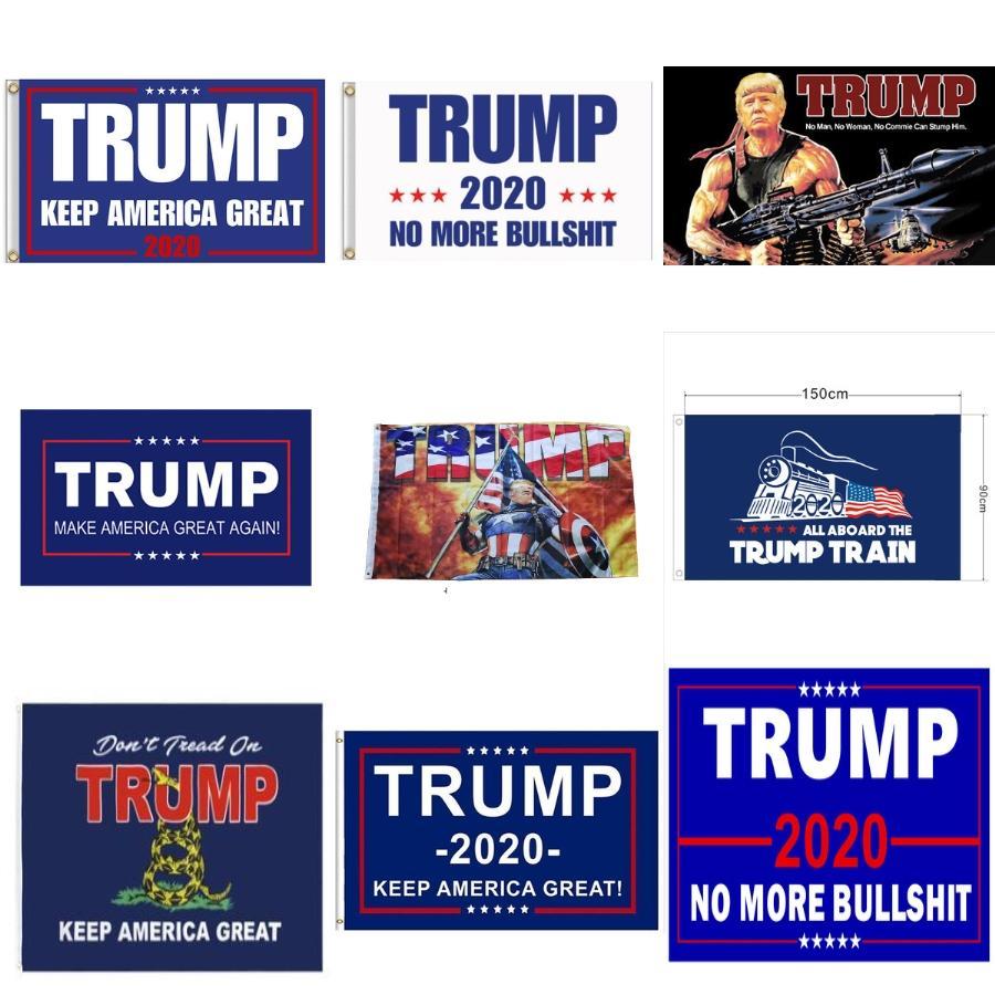 Donald Trump 2020 Bayrak Amerikan Kampanyası Anner Amerika Büyük Cumhurbaşkanı Seçim Flags tutun 30 x 45cm Bahçe Dekor M528F # 242
