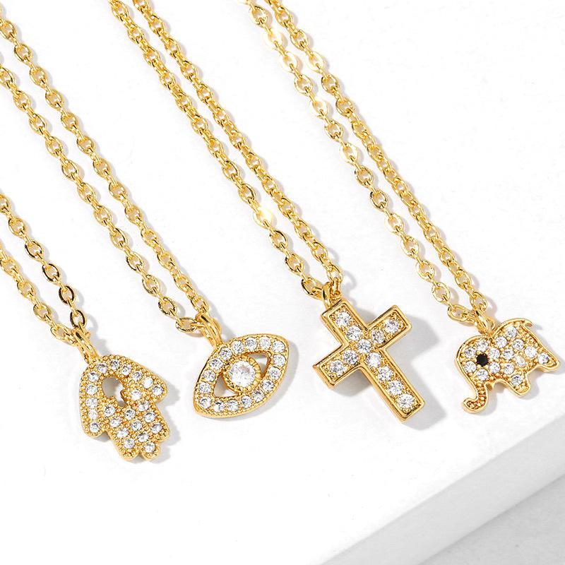 Estilo euro americano geométrico del collar pendiente de los nuevos accesorios joyería para el regalo de las mujeres