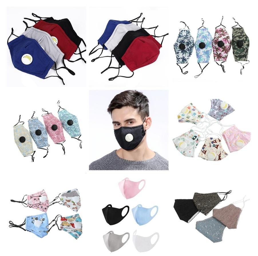 maschere riutilizzabili lavabile figli adulti faccia bambini maschera progettista maschera colorata copertina viso maschere di protezione DHB165