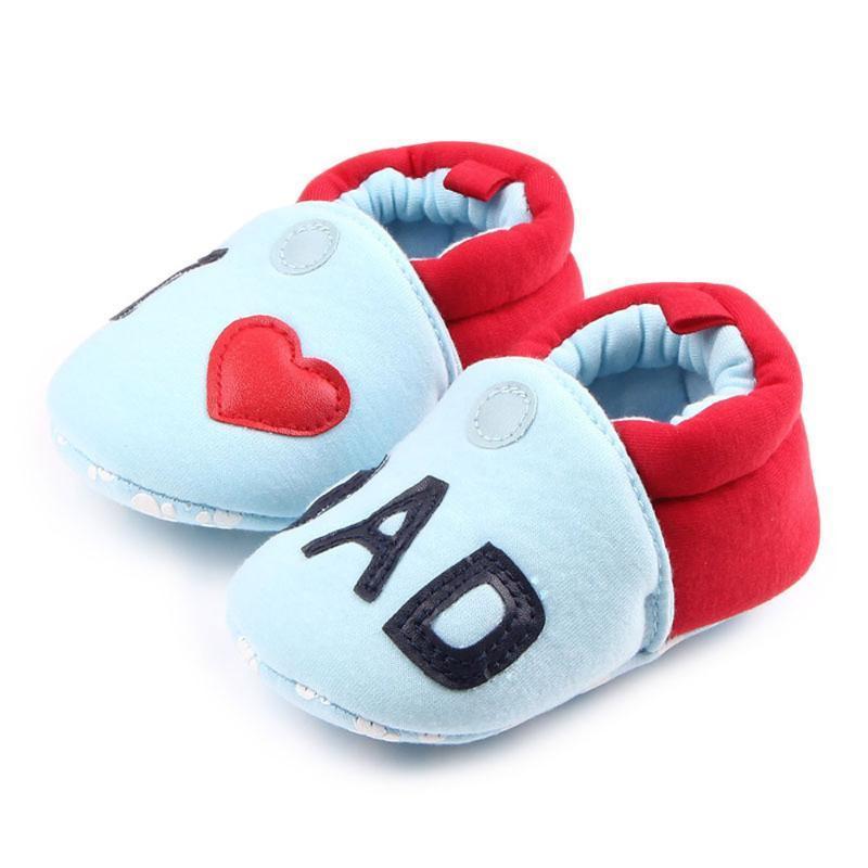 Детская обувь малыша Прекрасный первый Ходоки младенца Круглый Toe Flats Мягкие тапочки Обувь Y806