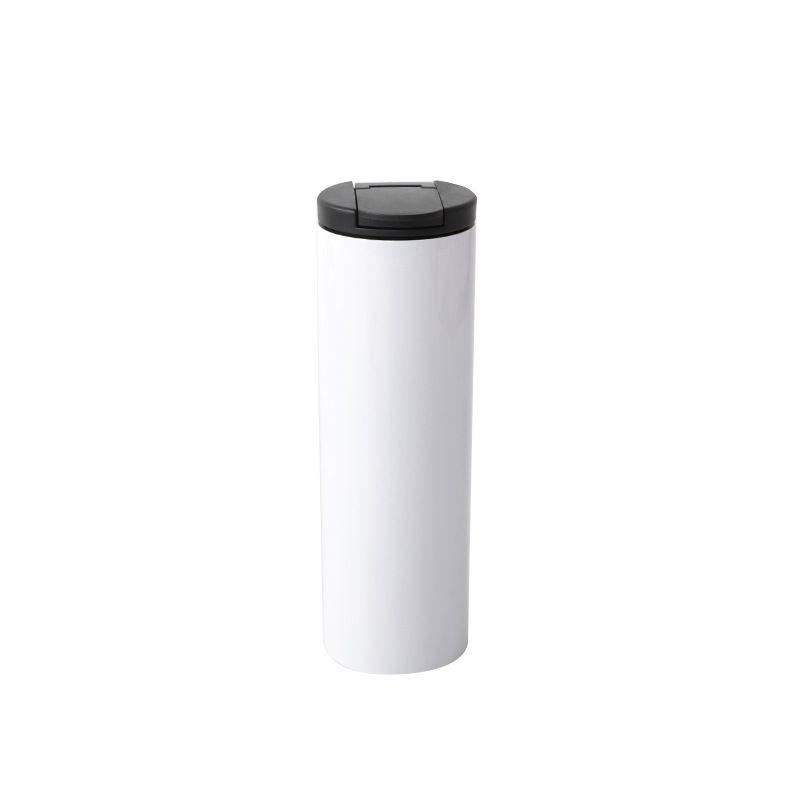 DIY Blank Sublimation 500ml Stahlflasche Tassen über Prtinting Sublimationstinte DIY Transfer Hitze-Presse-Druck Vakuum-Cup