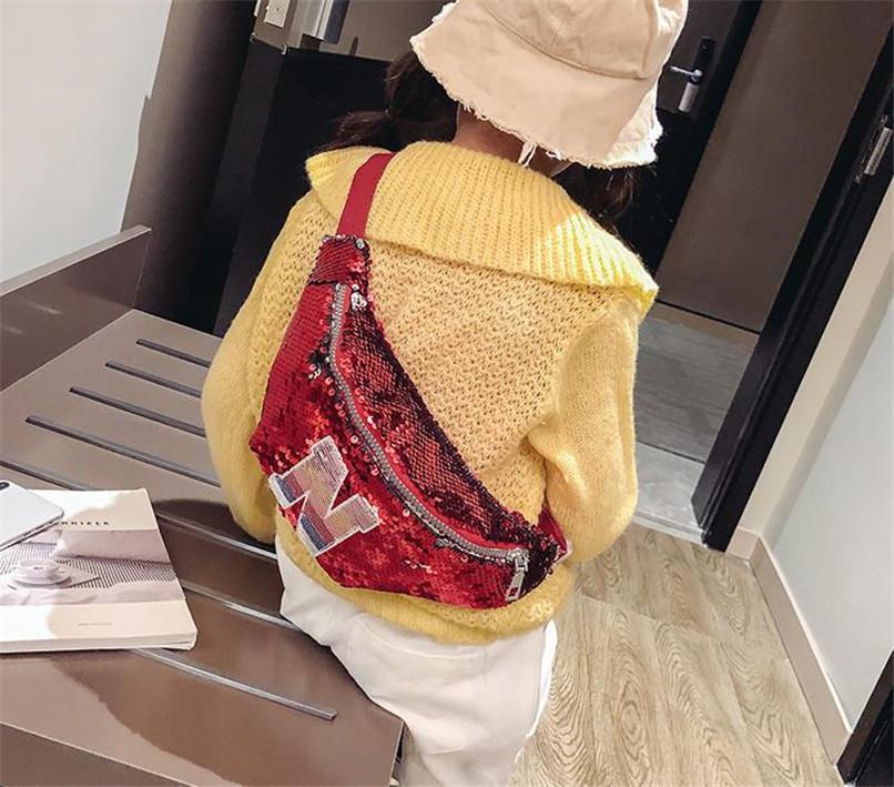 장식 조각 크로스 바디 가방 패션 패니 팩 허리 가방 여자 가슴 가방 메신저 가방 아기 귀여운 한 어깨 가방 야외 동전 지갑 LY916