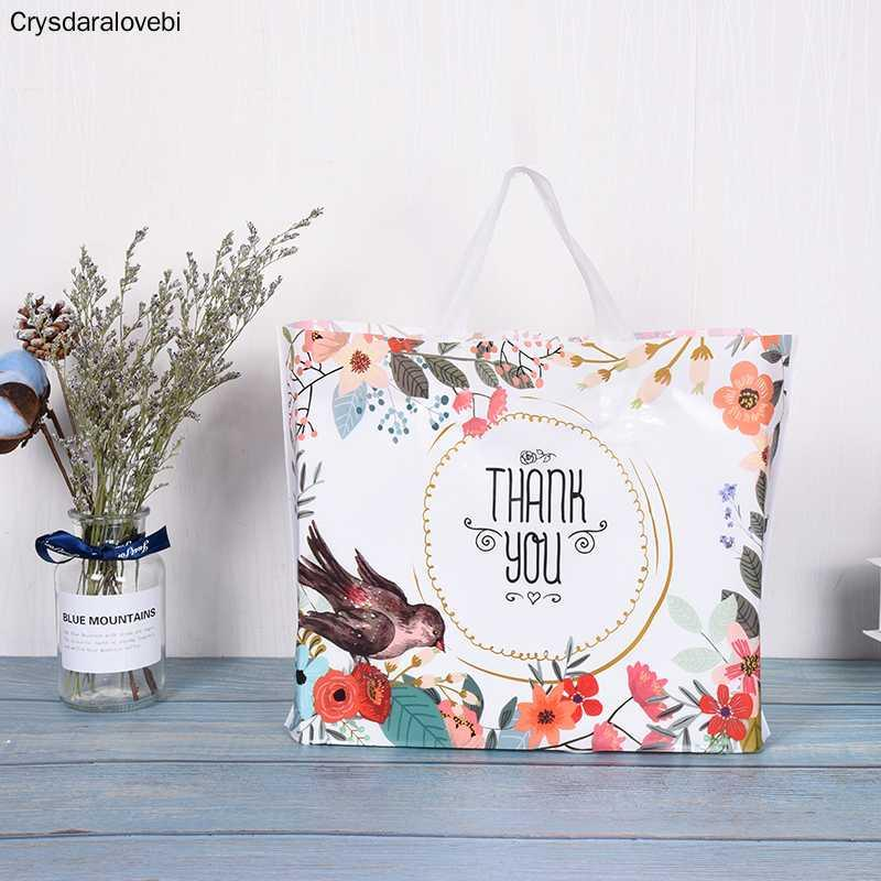 3 размеров настроить логотип Большого мешок несущей Сороки Свадьбы для покупки качества хорошего пластиковых пакетов оптом