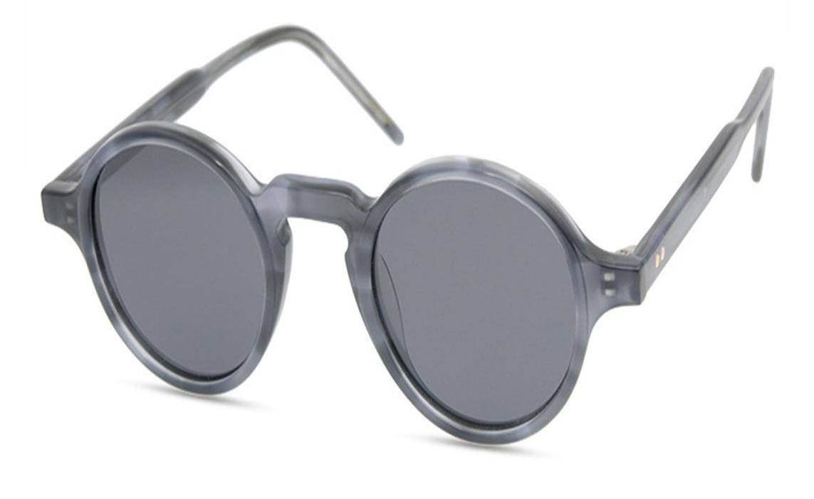 Round Vintage Unisexe acétate Monture complète Lunettes de soleil Cadre UV400 polarisants Protection Leopard Driving Sunglasses98
