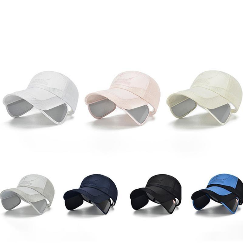 Malha de proteção UV respirável praia chapéu de balde chapéus Chapéu de Sol Homens