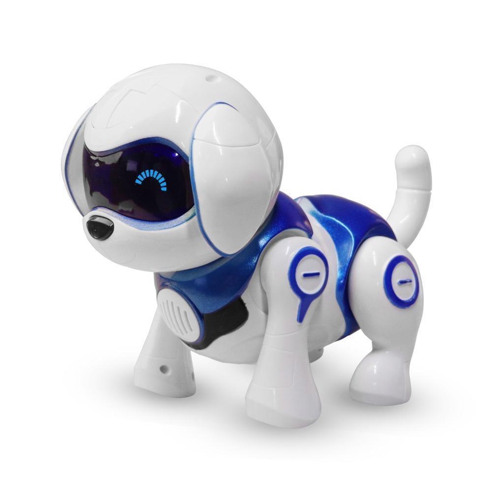 Robot intelligente cane giocattolo intelligente elettronici domestici Cane giocattolo capretti svegli animali del robot intelligente cucciolo regalo di compleanno dei bambini T190622 Presente