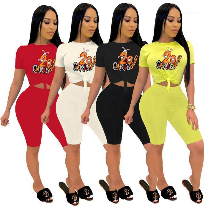 Two-piece Jogger Set Ladies Casual Female Tracksuit Sweat Suits Sexy Womens Casual Fashion Tracksuits Slim Short Sleeve