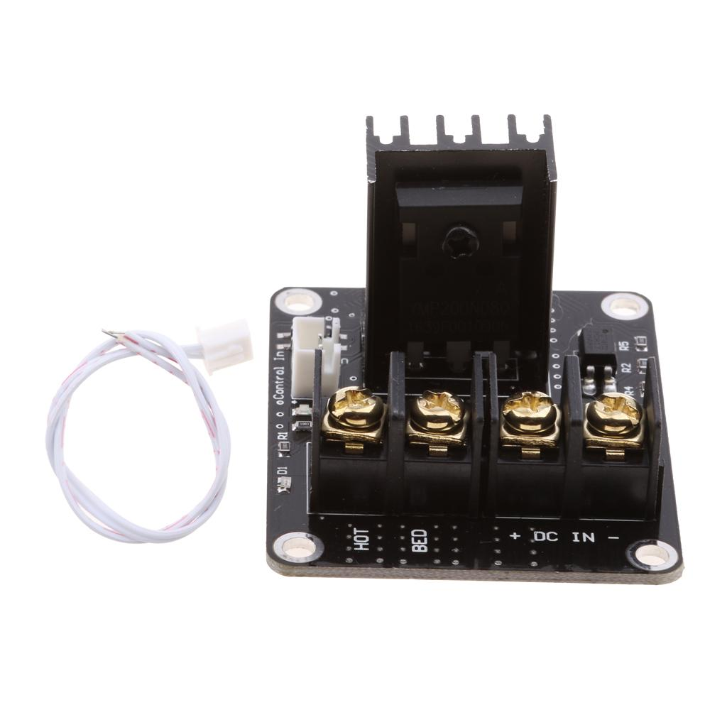 Heat Bed Power Module Expansion Hot Bed MOS MOSFET Tube for 3D Printer