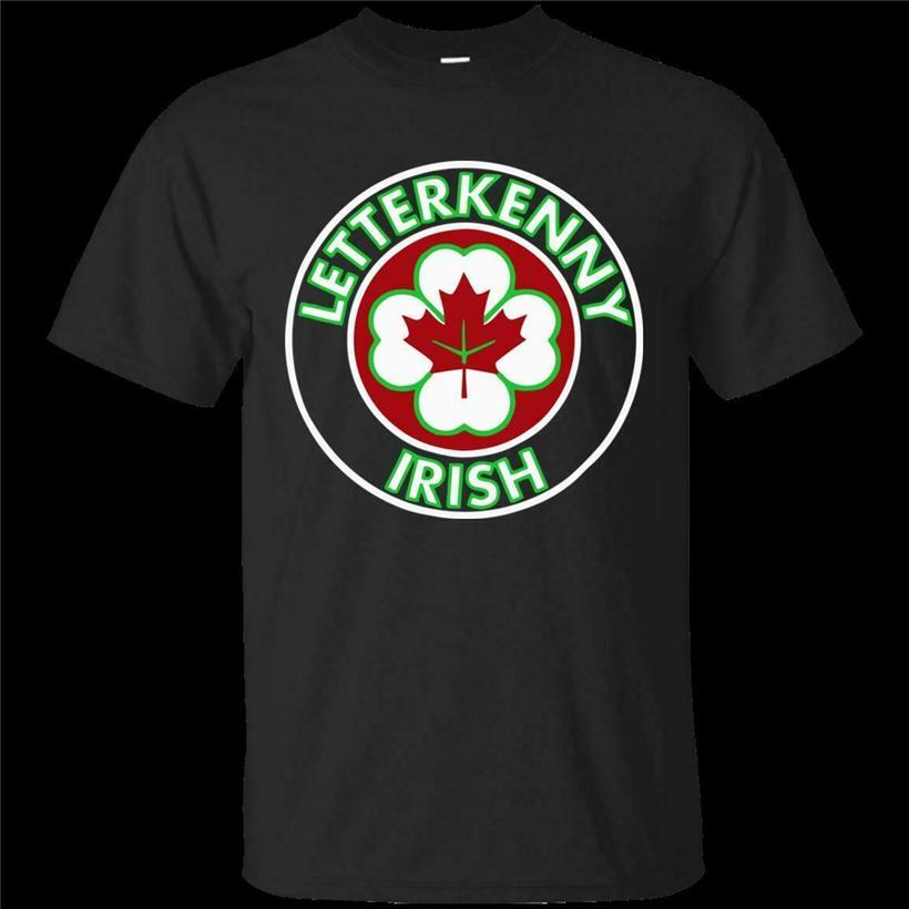 Letterkenny irlandese Shoresy Coor nero maglietta di formato S-5Xl Festive Tee Shirt