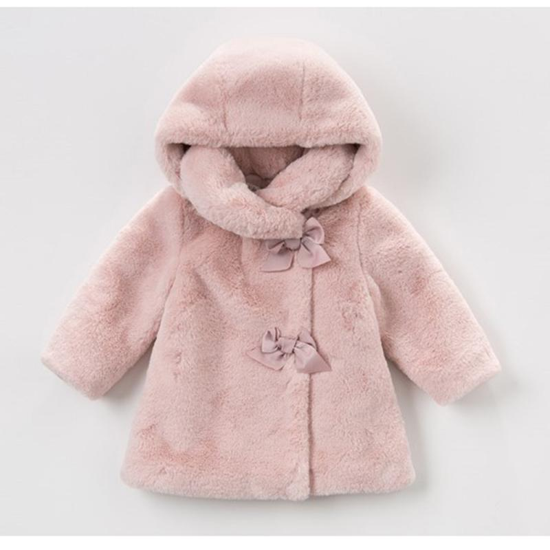 Baby Girls Winter Coat Kids Clothes Rabbit Fur Coat For Girls Jackets Baby Clothes Warm Parka Clothing For Girls Costume 1- LJ200918
