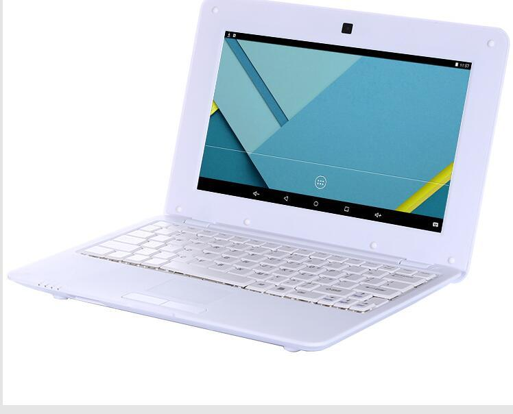 2 pcs l Notebook Computer 10 inch Netbook cheap mini laptops android O.S 8gb memory