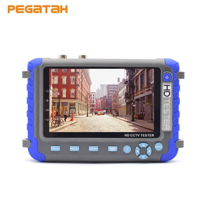5 بوصة LCD كاميرا التلفزيون المركزى الصينى الفيديو اختبار الدوائر التلفزيونية المغلقة Kamery المحمولة رصد الدعم العهد كاميرا مراقبة UTC HDMI اختبار الفيديو الصوت
