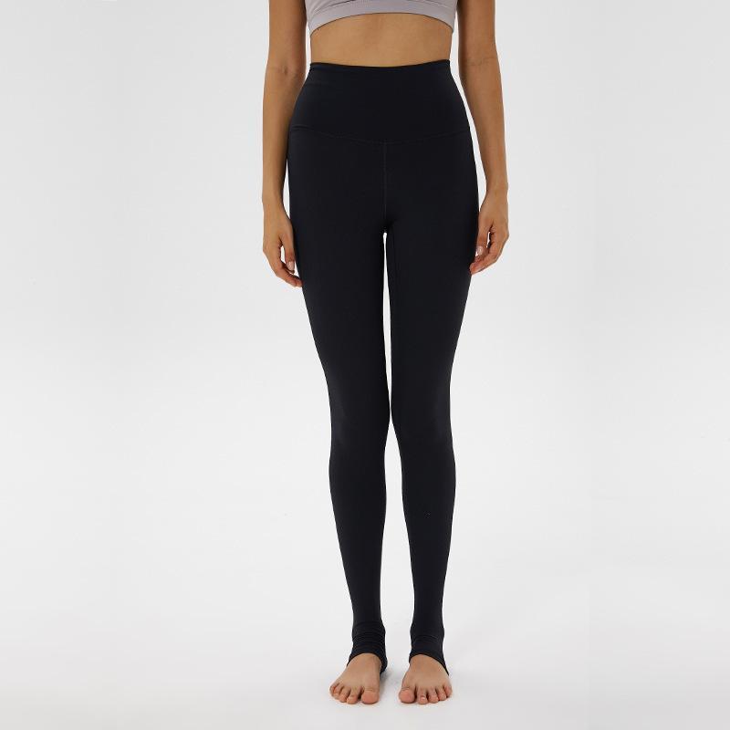 L-77 Spor Tayt Push Up Yoga Tam Pantolon Pocket Femme Yüksek Bel Legins Joga'ya Tozluklar Sport Kadınlar Spor Tayt