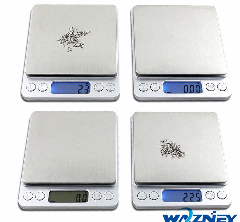 Balance numérique de cuisine électronique Poids régime alimentaire Lcd 3000g 2000g 500g appareil Balance New
