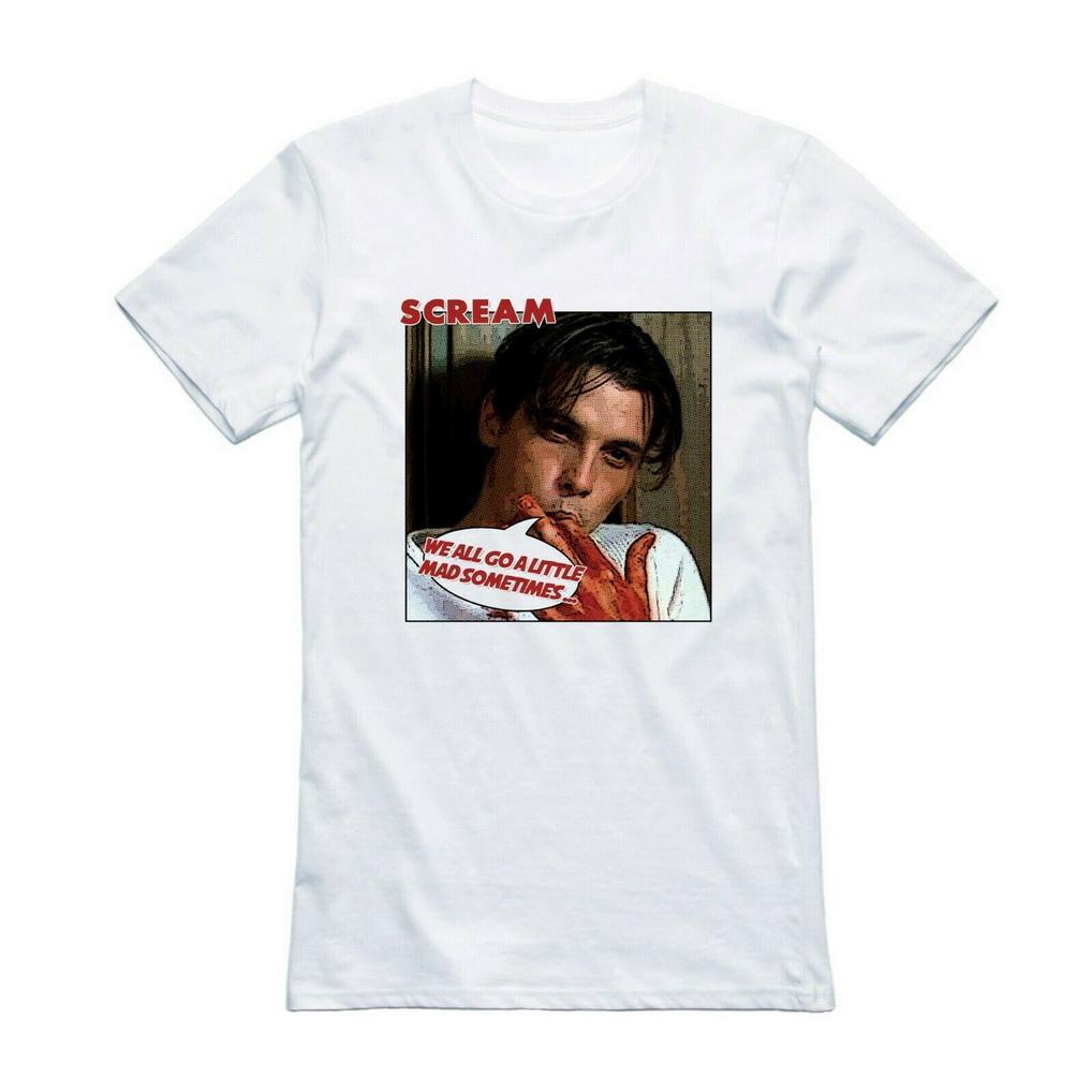 Schrei Weinlese 90s Horror-Film-T-Shirt T-Stück Film Geschenk 100% Bio-T-Shirt Mode-Klassiker-Art