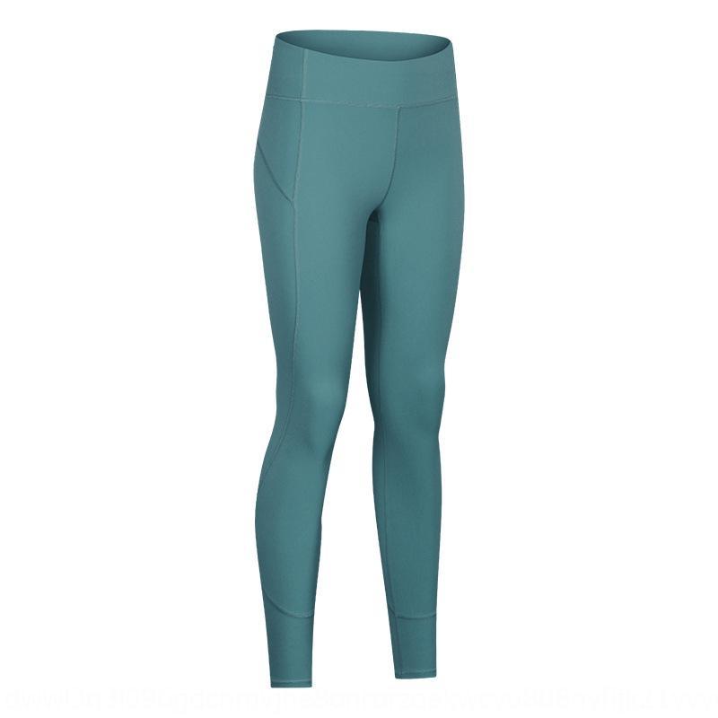 Осень и зима Новая линия йога шлифовальная йога брюки женские высокой талии бедра лифтинг живота растянуть фитнес щиколоток штаны 2NP4b
