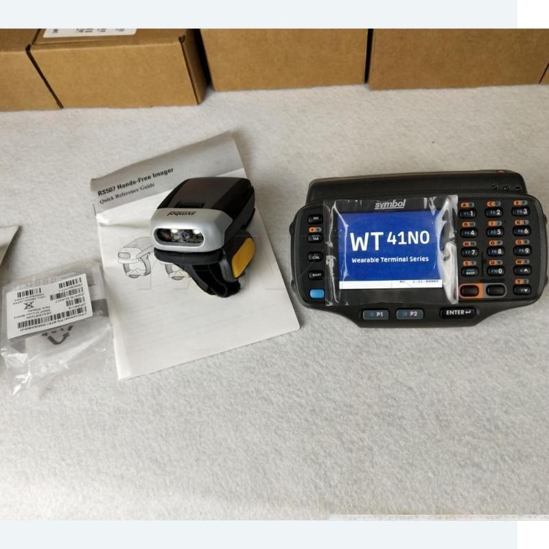1 Set WT41N0 & RS507-IM20000STWR For Zebra Symbol Ring Bluetooth Mounted Scanning Engine 2D scanner With WT41N0-N2S27ER