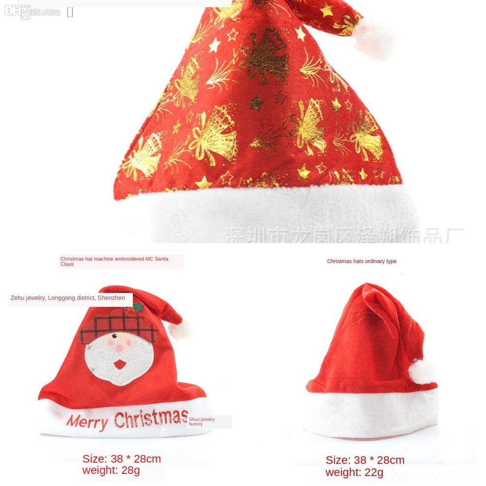 8G1E4 Christmas snowflake Knitted Santa Claus Chunky Hat-Unique Hat-Hand Gift-Stocking filler holiday festive hat