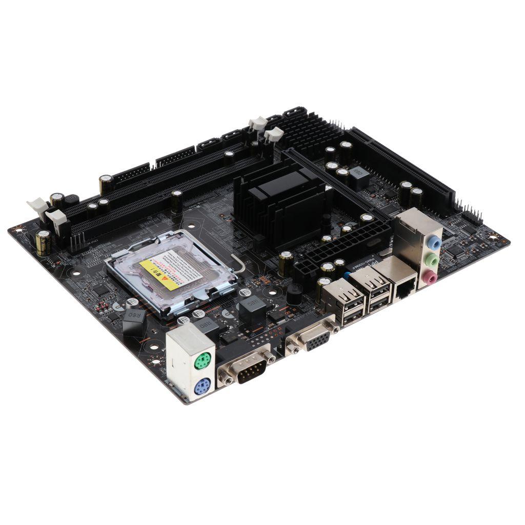 Desktop Motherboard DDR2 533/800 memory G31-775 Micro-ATX Board VGA/IDE/SATA