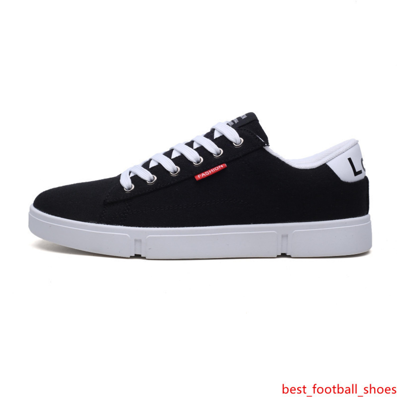 2019 nuovi uomini autunno delle donne scarpe casual traspirante scarpe di tela grigio nero mens cachi bianchi formatori nero scarpe