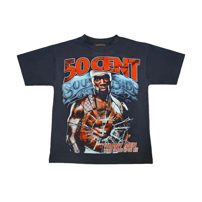 50 Cent consigue el regalo Rich or Die Tryin camiseta divertida de la vendimia para los hombres de las mujeres
