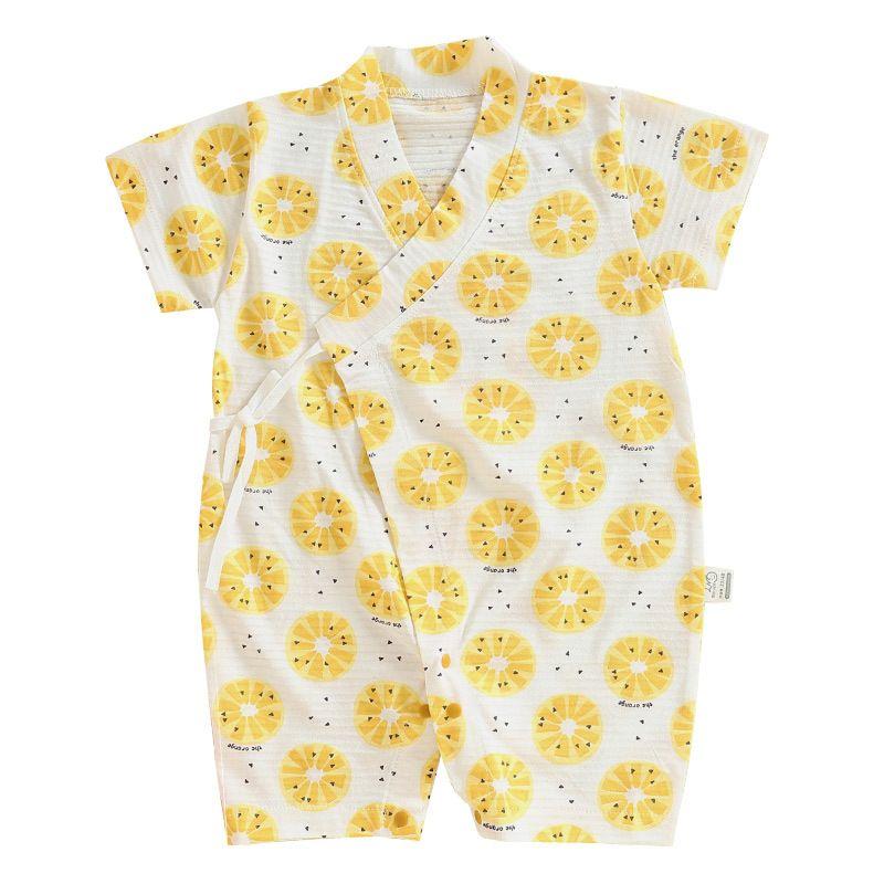 2020 Yaz Yeni Çocuk Pamuk Nefes Hanfu Uzun kollu Kelebek Giyim Bebek Elbise Tarama Giyim Tek Parça Romper