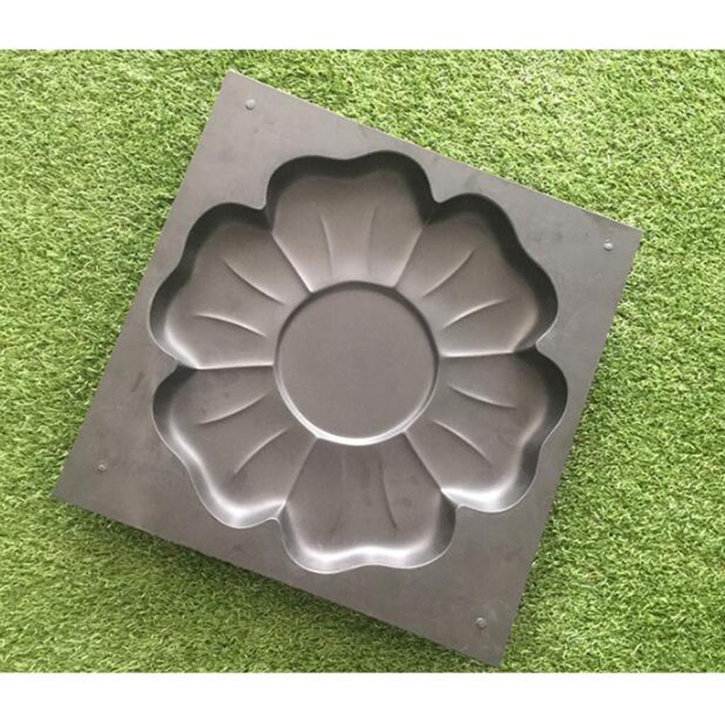 Бетонный Пресс-формы, DIY Путь чайник, Cement Пресс-формы для Проходы, сада, огорода, патио, сверхмощные бетонное покрытие плесенью, простой в использовании