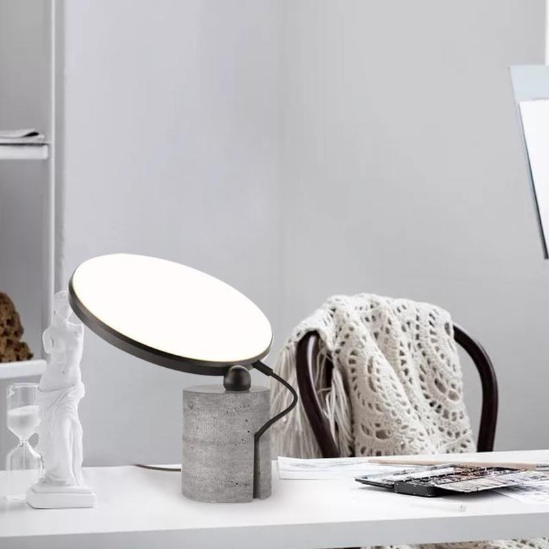 Современный Металл Мрамор Настольная лампа Гостиная Столовая Спальня Исследование Art Decor Освещение Свет стола TA184