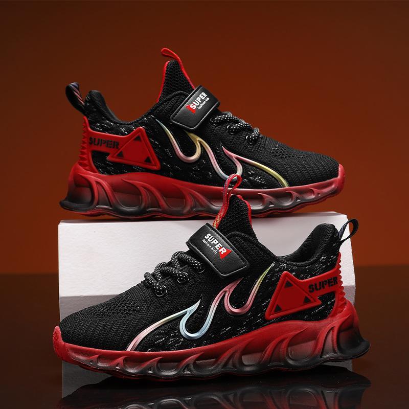 tenis de los nuevos niños de los zapatos corrientes zapatillas de chicos estudiantiles niño zapatos zapatillas cómodo niño de zapatos ocasionales de los deportes de los niños