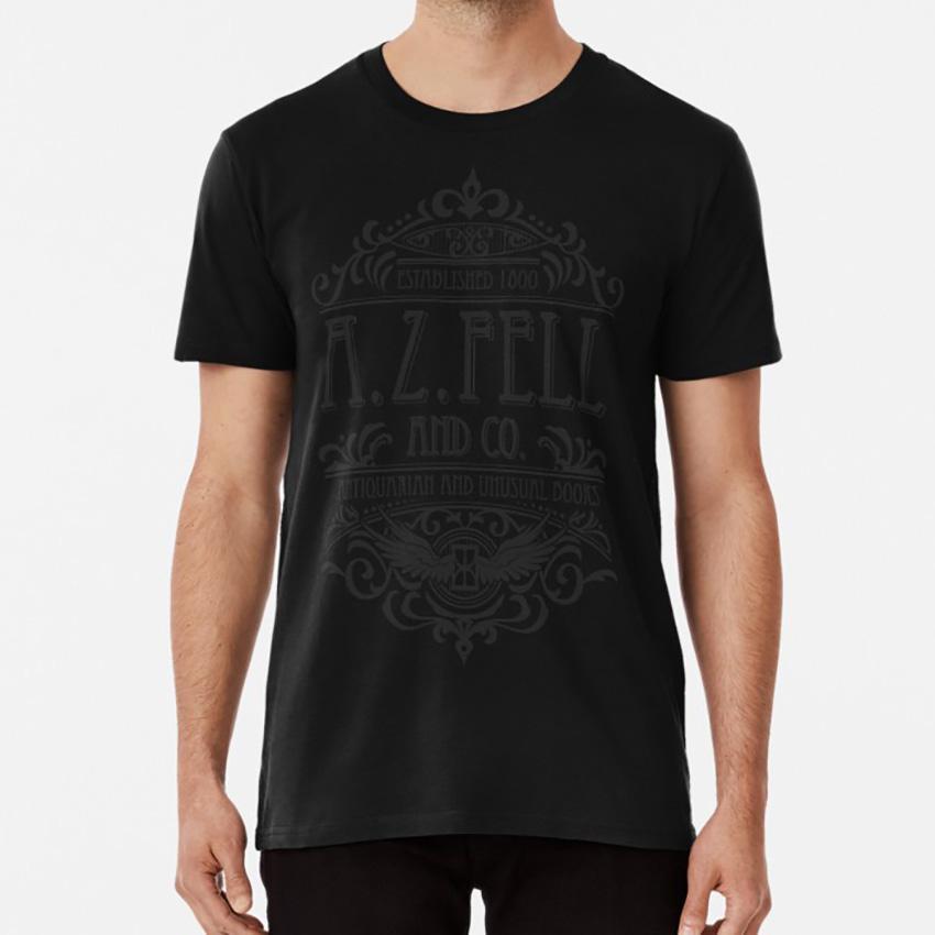 A. Z. Fell Book Shop (dunkel) Shirt Good Omens Good Omens 2020 Go Crowley Good Omens Crowley Crowley