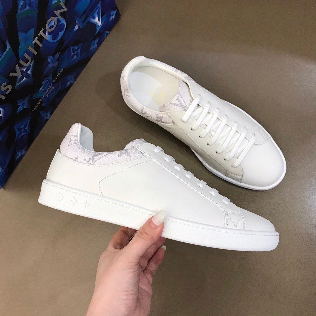 Chegada Nova Confortável Luxo tênis de design homens ou mulheres partido de couro casuais sapatos planas Lujos com caixa 2 p 8