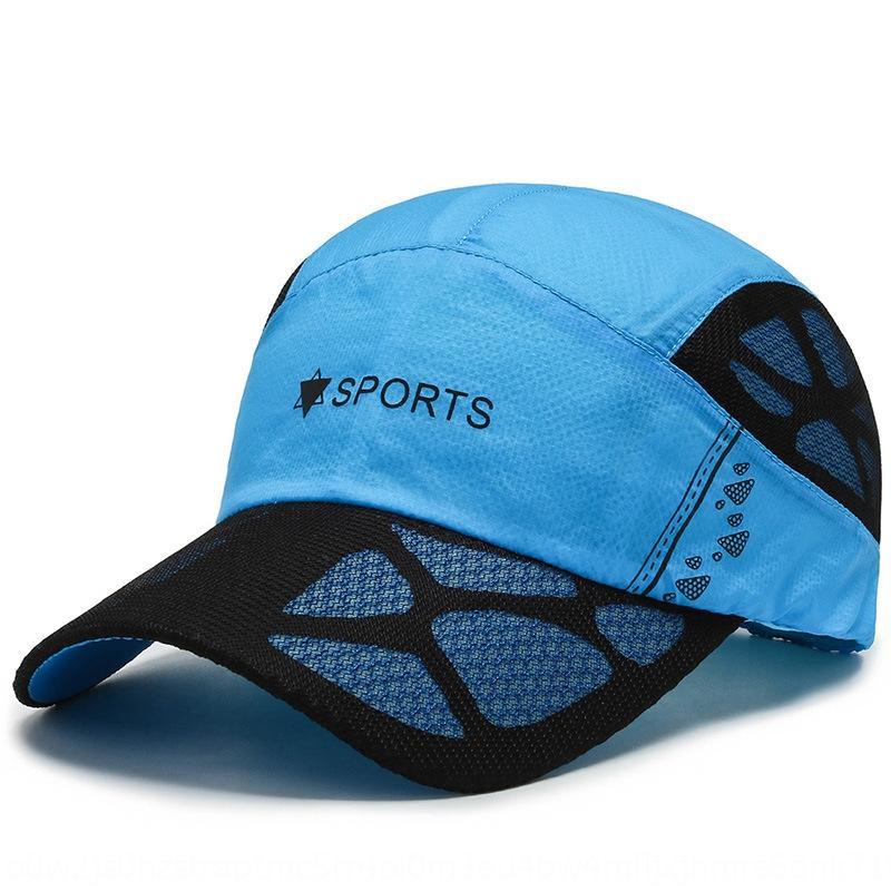 jwdFq primavera y el béisbol Wo sombrero de los hombres de las mujeres del verano sombrilla deportes de la gorra de béisbol transpirable de secado rápido de malla de sombrero de las mujeres hombres y casquillo ocasional