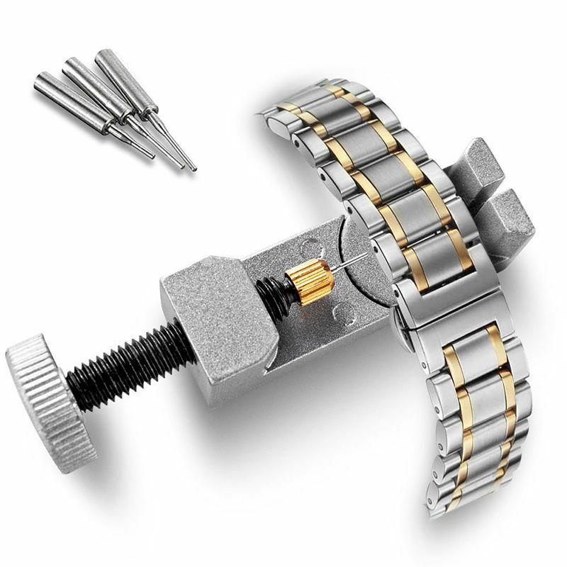 Металл из нержавеющей стали Регулируемая Часы группы Ремешок Браслет Ссылка Pin Remover Repair Tool Kit Аксессуары Новое