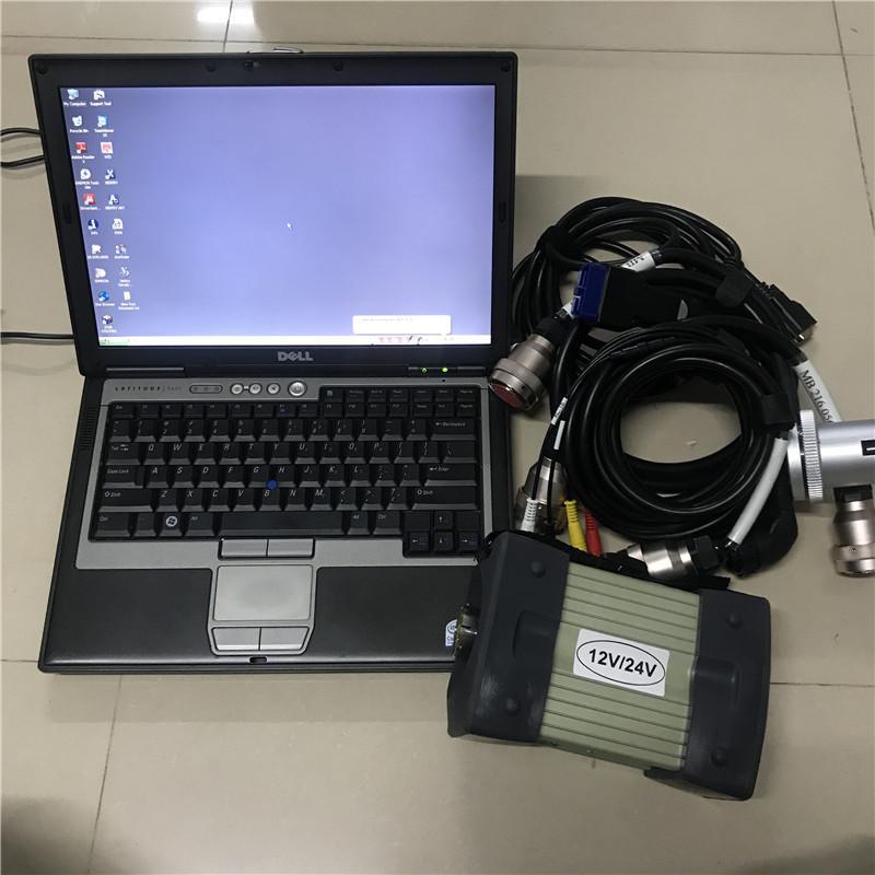 ميغابايت ستار C3 الكمبيوتر التشخيصي الكمبيوتر المستخدمة الكمبيوتر المحمول D630 4G 320GB HDD 2014 / 12V Soft-Ware مثبتة بشكل جيد لاستخدام السيارات القديمة