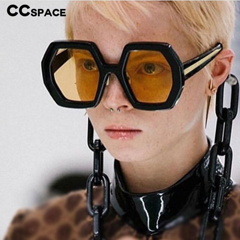 UV400 Polygon Männer Metall Retro Vintage Töne Eingebaute Sonnenbrille Mode Frauen Brille 48082 Beine UQJLQ