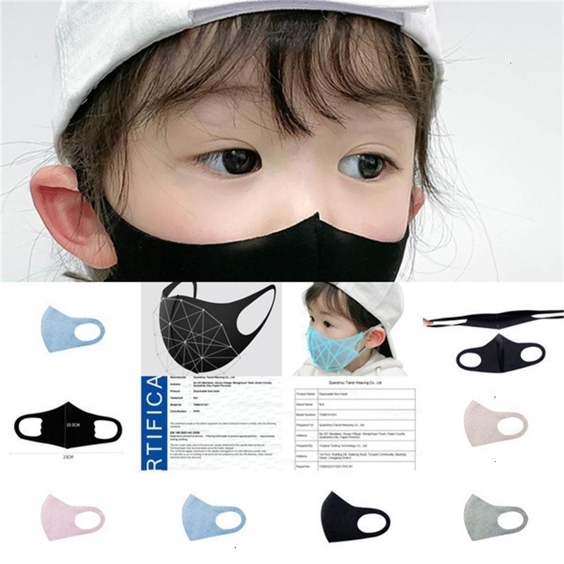 Enfants Anti Enfants 4-11 ans pour 10pcs Pollution Masque PM2,5 Air poussière Masques visage lavable mince réutilisable bouche couverture 3jzg7A851A851