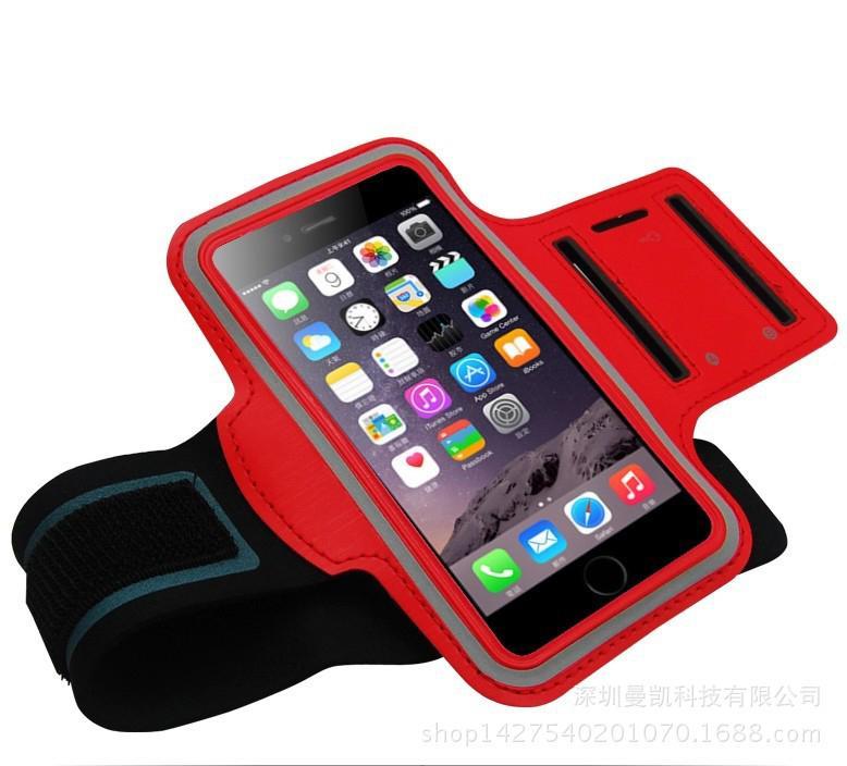 Para iPhone11PRO MAX Samsung s10plus Sports impermeáveis executando braçadeira caso Workout caso Armband saco Bolsa Celular Arm Saco com OPP Bag