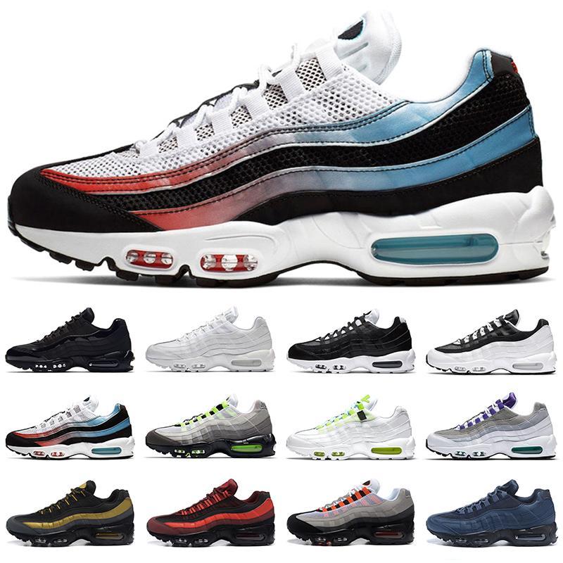 haute qualité supérieure Hommes Femmes Baskets homme Chaussures de course dans le monde entier Triple Blanc Noir Or Rouge Yin Yang Neon mode Sport Sneakers Taille 36-46