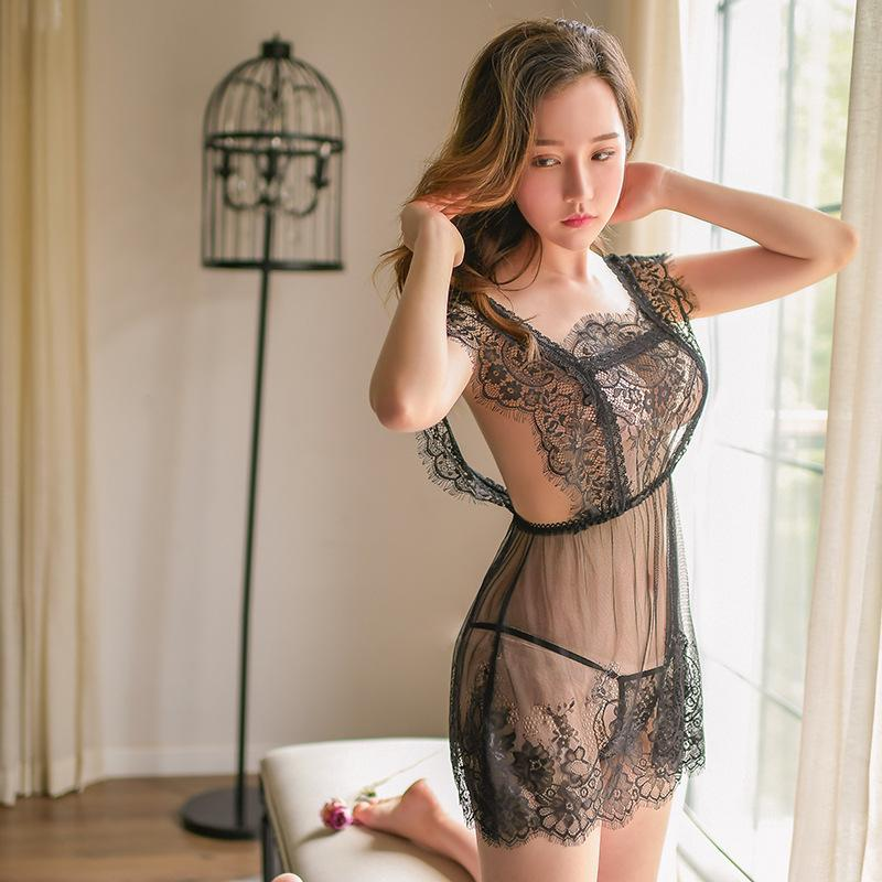 Female sex appeal inner clothes cheongsam uniform small chest supplies tight-fitting see-through clothing passion suit distribution
