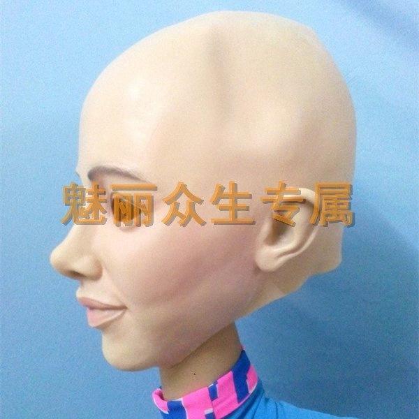 Vente en gros X MERRY Travesti Parti Masques latex de caoutchouc Halloween Femme Masque des hommes de masque féminin grossiste réaliste mascarade masque DL7F #