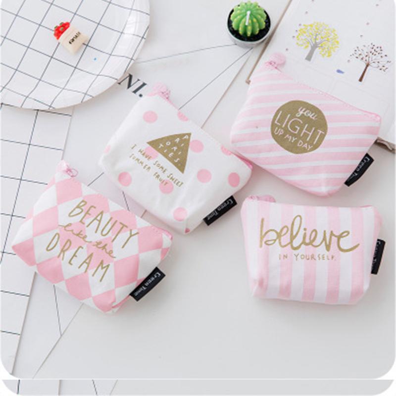 Porte-Monnaie Porte-Mini Sacs serviette hygiénique Sac de rangement Portefeuilles de femme Sanitary Pad cosmétiques Pouch Organisateur