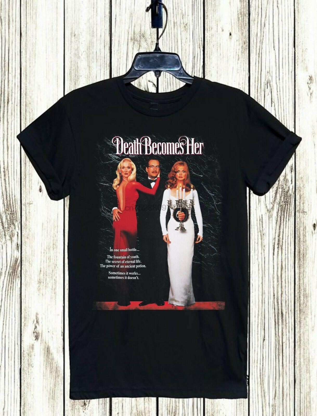 Death Becomes son film T-shirt Xs-3TG unisexe Livraison gratuite Cult Horror Comédie