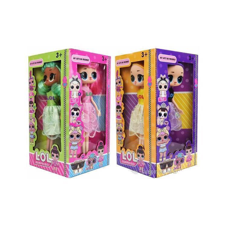 9 5 pulgadas de PVC de Kawaii niños lindos juguetes Anime Figuras de acción realista Renacido muñecas regalo mezcla Estilos 4 4 PC / mostrar cuadro Lt721