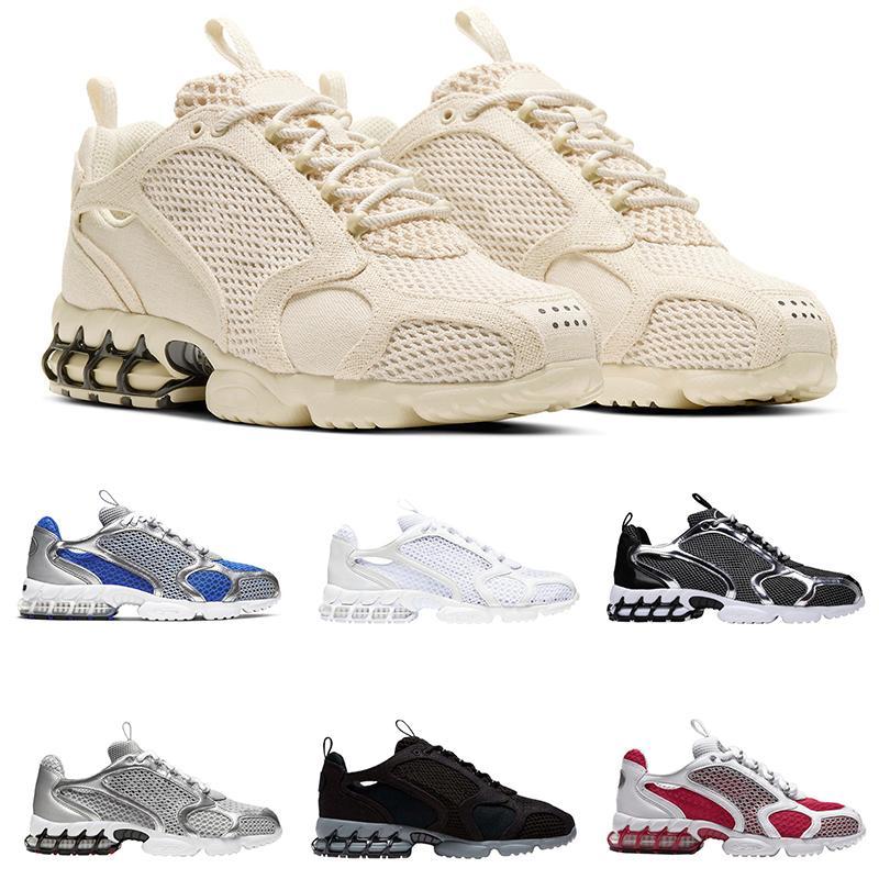 air  zoom chaussures الاحذية معدني فضي أسود الثلاثي الأبيض الرجال البلاتين النقي إمرأة حذاء مدربة رياضية