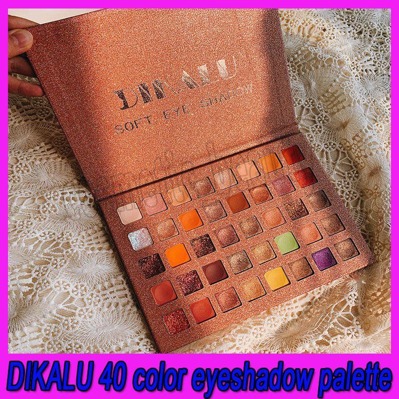 .DIKALU 40 Renk Glitter Göz Farı Pallete Gözler Makyaj Mat Işıltılı pigmentli Göz Farı Paleti Yukarı Palet Kozmetik olun