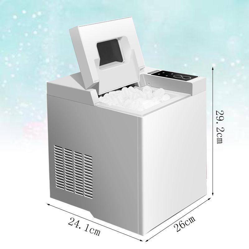 Usage domestique Maker Machine à glace portable pour Countertop, cubes de glace Prêt à 6 minutes Marque 6,5 kg, pour les Parties