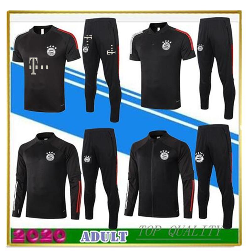 2020 Bayern Münih futbol antrenman takım JAMES MULLER LEWANDOWSKI futbol 20 / 21polo gömlek BOATENG eğitim takım elbise ceket eşofman